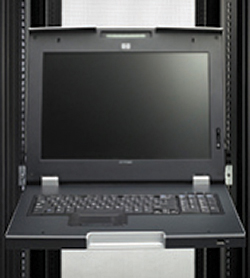 Server Console: Hewlett Packard Co., Rack and Power Infrastructure