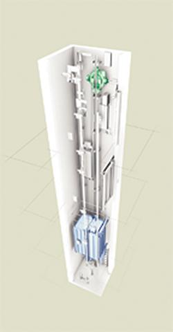 Machine Room-Less Elevator: KONE Inc.