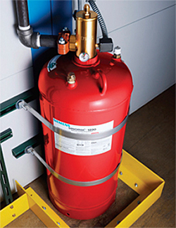 Fire Suppression System: Siemens Building Technologies Inc., Fire Safety Div.