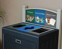 Recycling Stations: CleanRiver Recycling Solutions