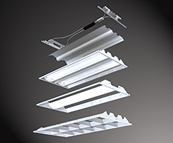 Fluorescent Fixture: Cooper Lighting
