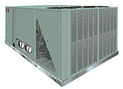 Package HVAC Unit: Rheem Water Heating