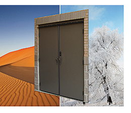 Steel Door: Ceco Building Systems