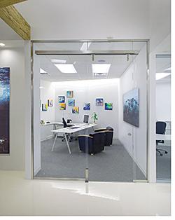 Sliding Door: Dorma Architectural Hardware
