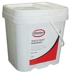 Waste Paint Hardener: Glidden
