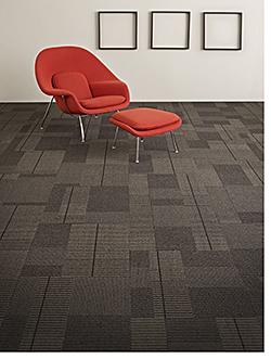 Carpet Tile: J+J/Invision