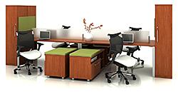 Desk: Trendway Corp.