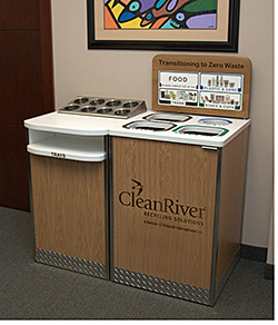 Recycling Station: CleanRiver Recycling Solutions