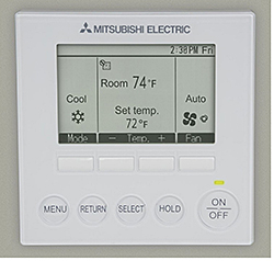 Temperature Controller: Mitsubishi Electric and Electronics USA, Inc. HVAC