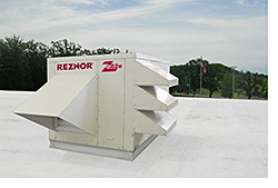 Ventilation Unit: Reznor/Thomas & Betts