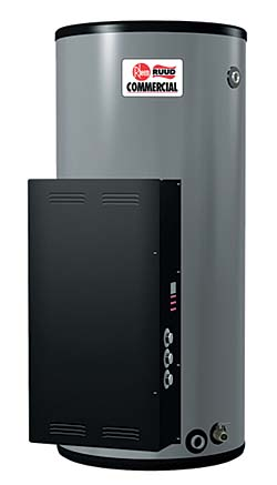 Electric 175-Gallon Water Heater: Rheem Manufacturing Co.