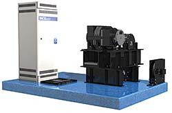 Gearless Elevator Modernization Package: ThyssenKrupp Elevator Corp.