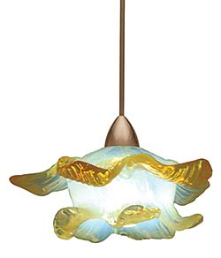 Opalescent Pendants: WAC Lighting