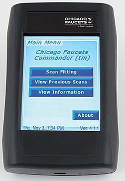 Electric Faucet Programmer: The Chicago Faucet Co.