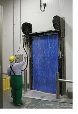 Clean Room Doors: Rite-Hite Corp.