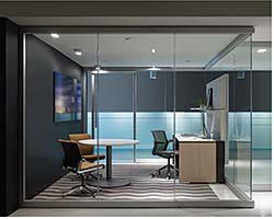 Glass Wall: Allsteel Inc.