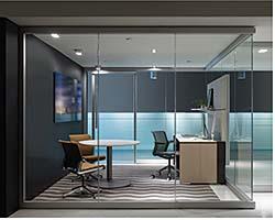 Glass Wall: Allsteel Inc.