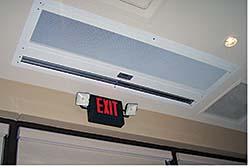In-Ceiling Air Curtain: Berner International