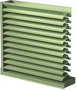 Louvers: Greenheck
