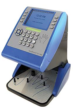 Biometric Time Clock: SwipeClock