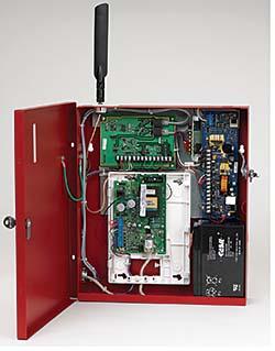 Fire Alarm Communications Panel: Honeywell Power
