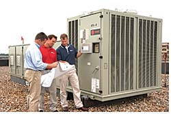 Packaged Rooftop Units: Trane