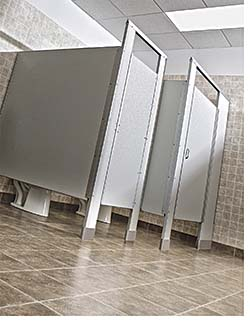 Toilet Partitions: Special-Lite Inc.