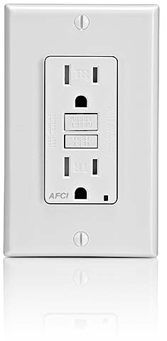 AFCI Receptacle: Leviton Manufacuring Co. Inc.