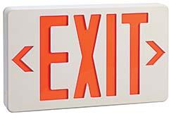 LED Exit Signs: W.W. Grainger