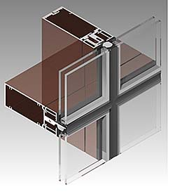 Curtain Wall: Wausau Window and Wall Systems