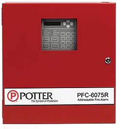 Control Panel: Potter Electric Signal Company LLC