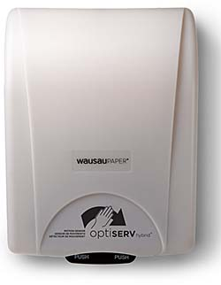 Roll Towel Dispenser: Wausau Paper