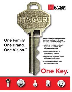 Keyway: Hager Companies