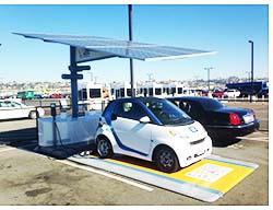 EV Charging Station: Envision Solar International Inc.