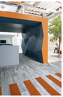 Carpet Tile: Interface Inc.
