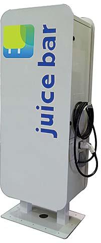 EV Charging Station: Garage Juice Bar LLC
