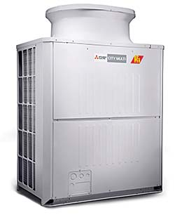 Heat Recovery System: Mitsubishi Electric and Electronics USA, Inc. HVAC