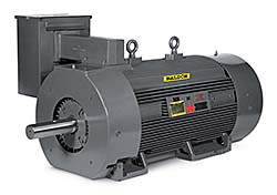 Induction Motor line: Baldor Electric Co.
