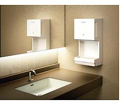 Hand Dryer: Mitsubishi Electric Jet Towel, Mitsubishi Electric US Cooling & Heating Division