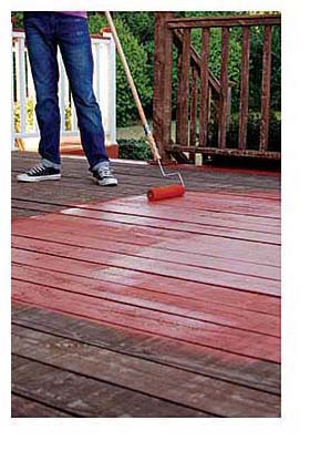Deck Coating: BEHR Process Corp.