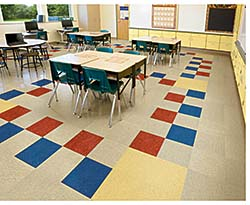Linoleum: Armstrong Commercial Flooring