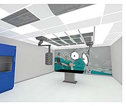 Operating Room Ceiling System: Titus