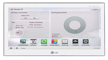 VRF Central Controller: LG Electronics