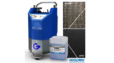 Cooling Tower Cleaner: Goodway Technologies Corp.