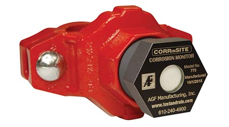 Sprinkler Piping Monitor Catches Corrosion Sooner: AGF Manufacturing