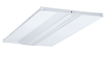 LED Troffer Designed for Restricted Plenum Spaces: Columbia Lighting