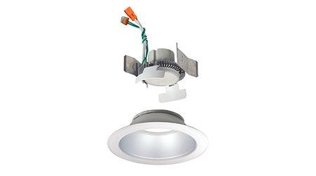 LED Downlight Provides Versatility to Series: Nora