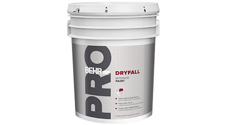 Dryfall Paint Offers Flash Rust Resistance: Behr