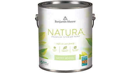 Paint Produces Zero Emissions: Benjamin Moore