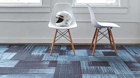 Carpet Tile Offers Custom Color Matching: Bentley